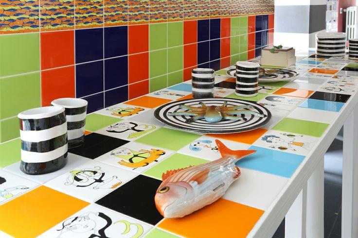 CooKing Tiles Designed by Susanna Brandolino