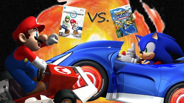Which game do you like better? MARIO KART Wii or SONIC & SEGA ALL-STARS RACING?