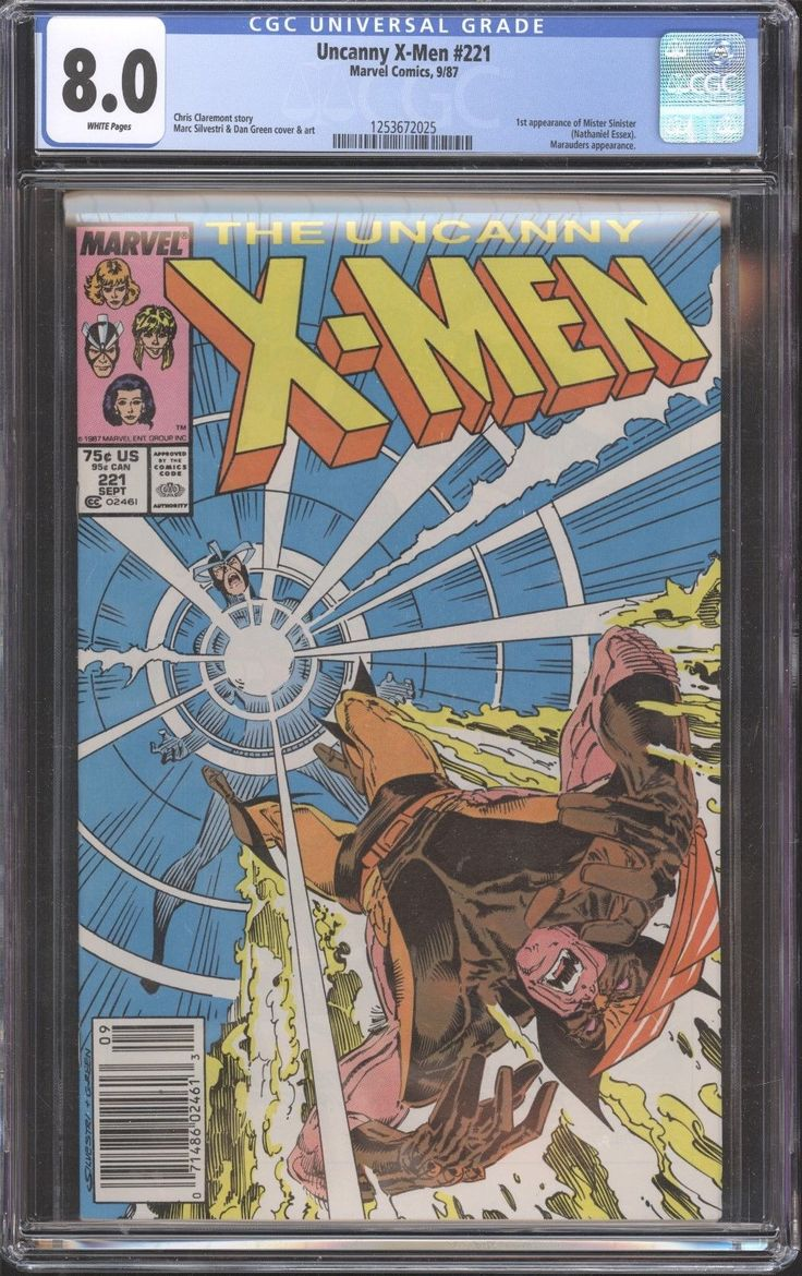 Uncanny X-Men # 221 CGC 8.0 1st Appearance of Mister Sinister Marvel Comics: $24.99 (0 Bids) End Date: Sunday Mar-4-2018 18:14:57 PST Bid…
