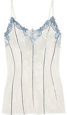 Rosamosario Lord Byron Loves Italy Lace Camisole