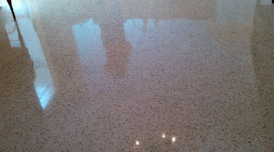 Many house owners choose terrazzo stone for their floors because such stone is very unique.
