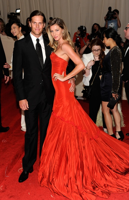 Tom Brady & Gisele at the Met Gala l wantering.com
