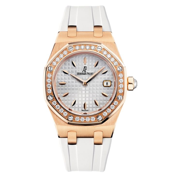 Audemars Piguet Lady Royal Oak Rose Gold & Diamonds