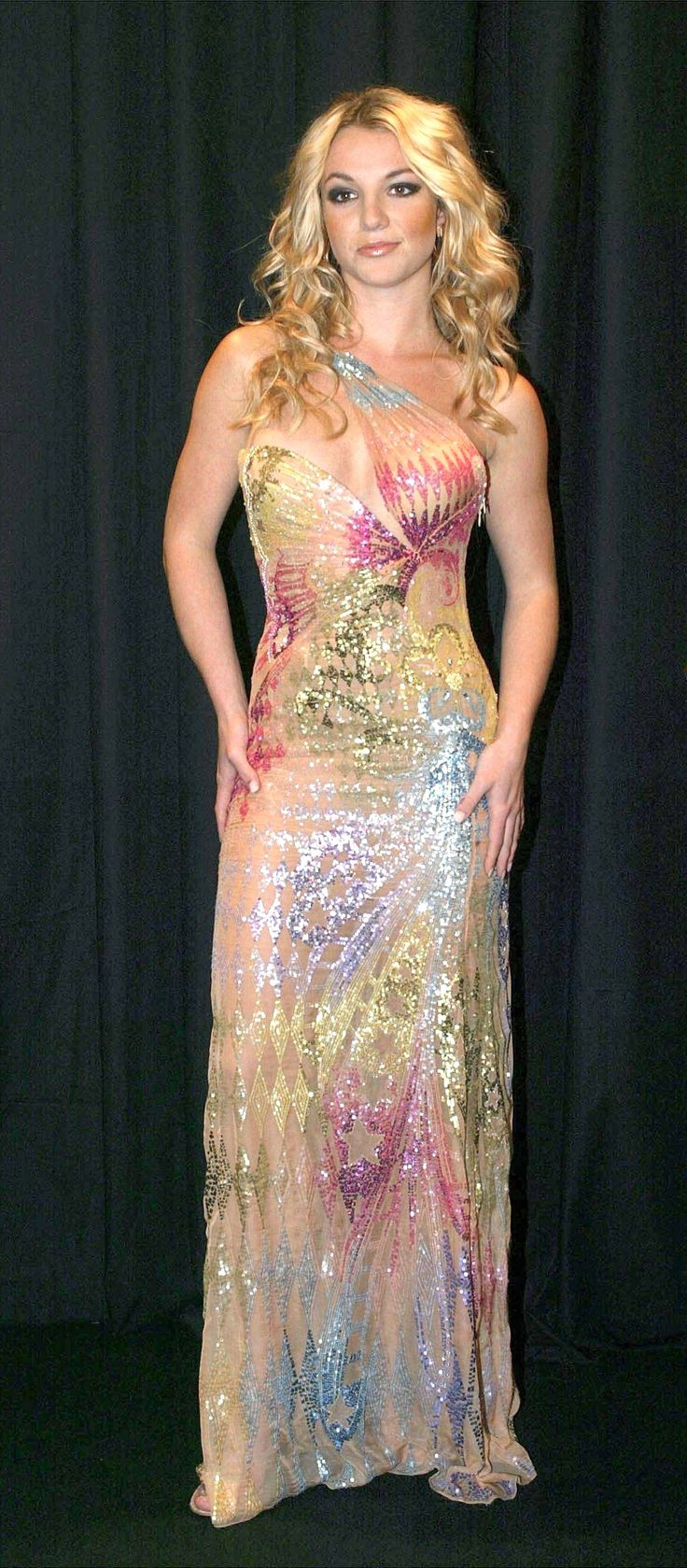 Britney Spears-Versace butterfly dress