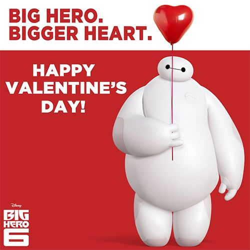 Happy Valentine's Day from Baymax!