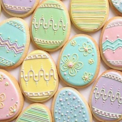 Image result for biscoitos decorados para pascoa