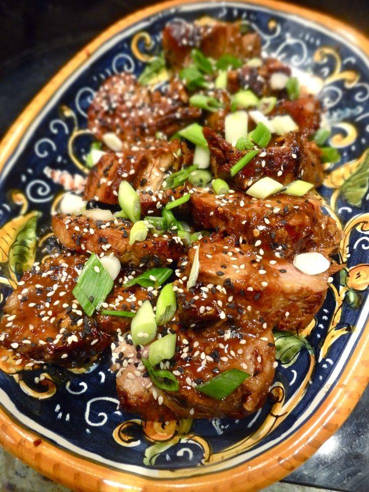 Scrumpdillyicious: Korean-Inspired Pork Tenderloin with Kalbi Marinade