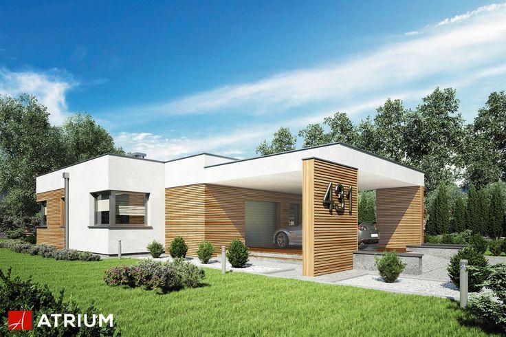 Projekt Ibiza II - elewacja domu