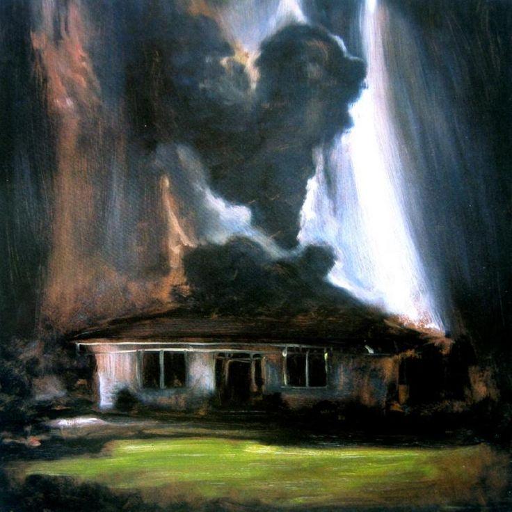 Hearman house  cloudscape