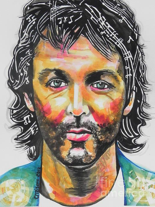 Paul McCartney...From the Beatles...Watercolor prints on sale :)