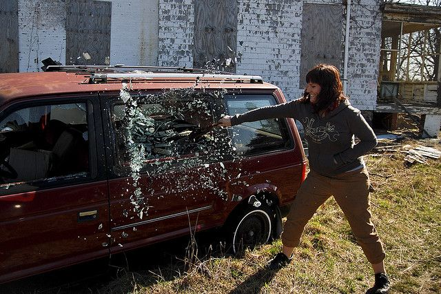 shattering glass by ramsey everydaypants, via Flickr