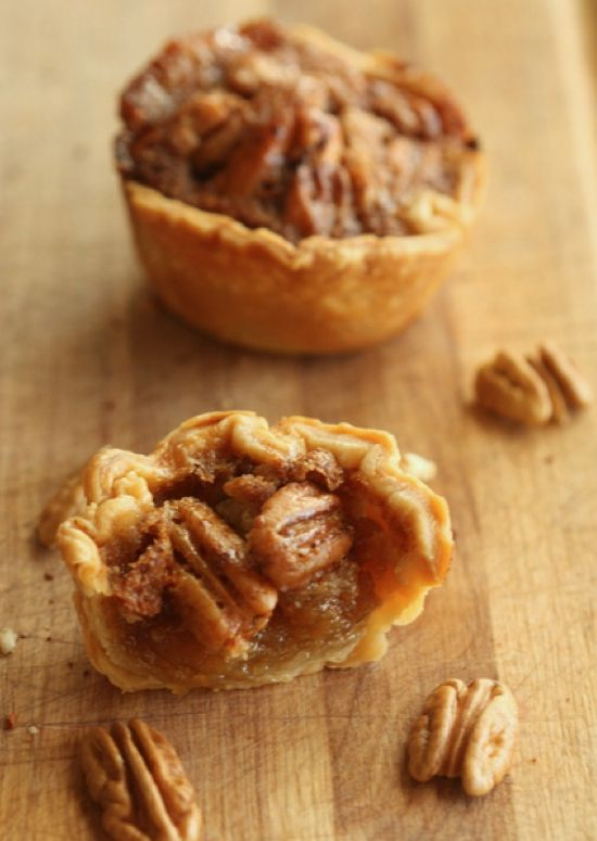 mini pecan pies — Wedding Ideas, Wedding Trends, and Wedding Galleries