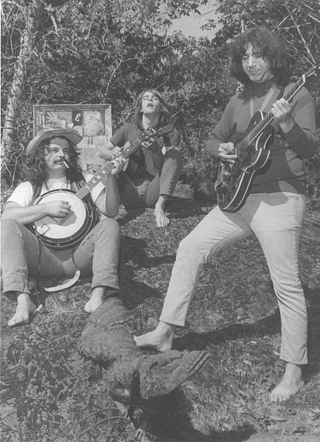Jerry Garcia, Pigpen and Bob Weir, 1966.