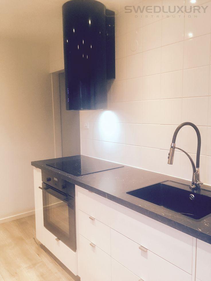 Köksfläkten BALTIC uppmonterad hemma hos vår kund :-)