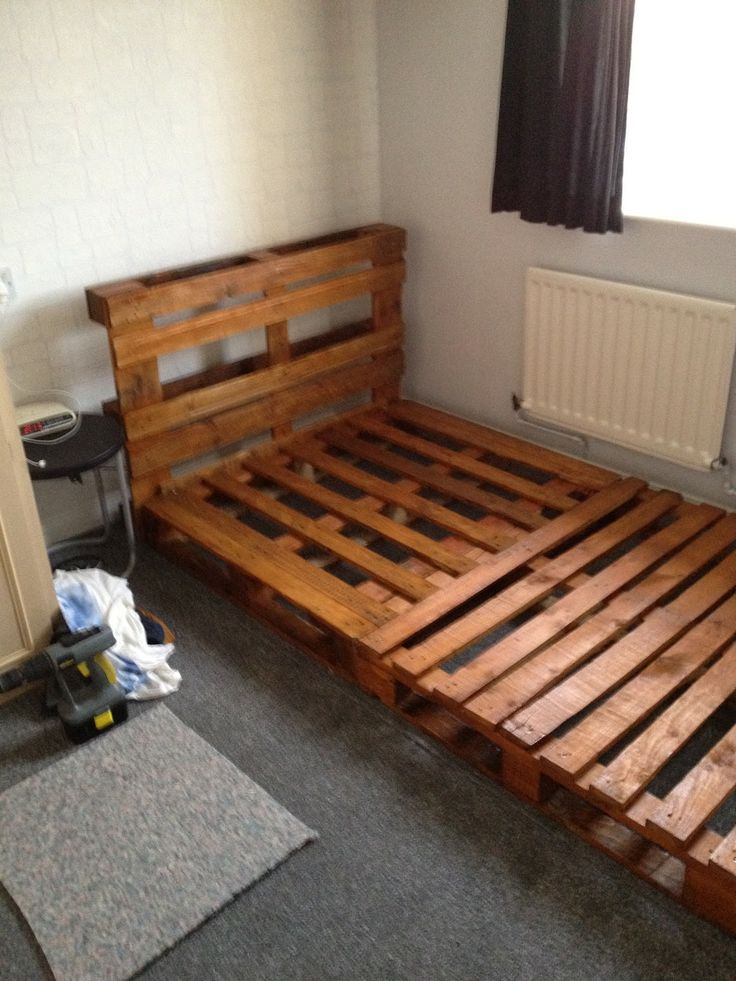1000 Ideas About Kids Pallet Bed On Pinterest Pallet