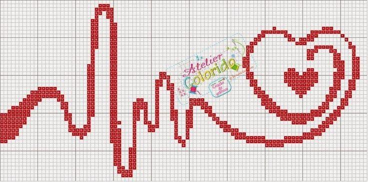 Cross-stitch Beat of My Heart, part 1... comentários - Dinha Ponto Cruz - bem vindos deixem seus