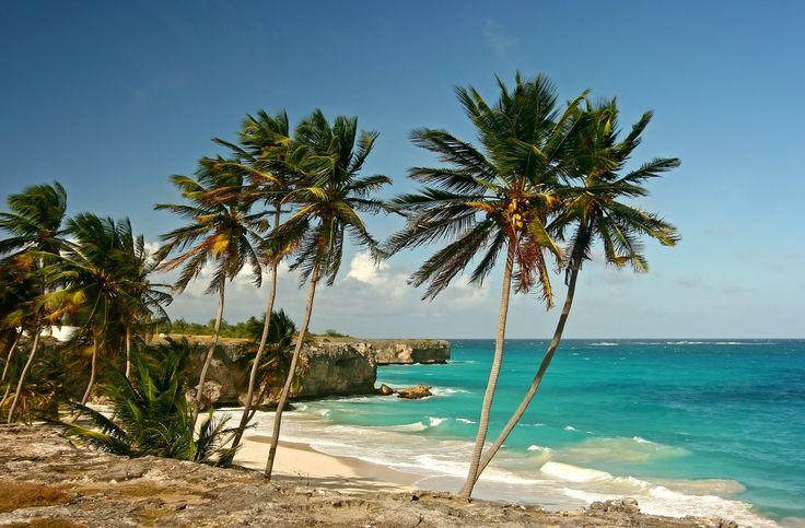 Пляж в Bottom Bay, Барбадос