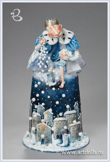 Егупец Ольга. Авторская кукла . Проект 12 Декабрь - Russian Art Doll