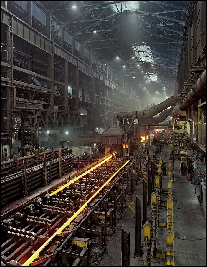 "My novel ""Hometown News"" reflects places like this. Tube mill - V Star Steel, Youngstown Ohio"
