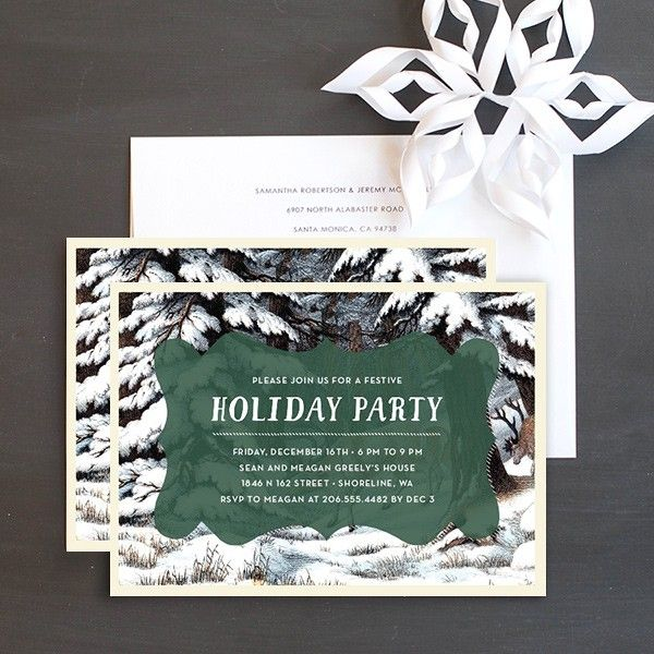 55 best images about Christmas Party Invitations – Party Invitation Paper