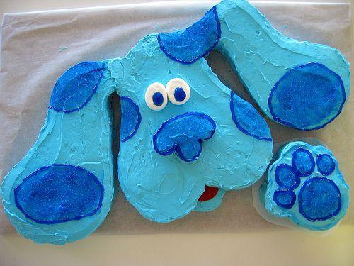 Blue's Clues Cake Idea