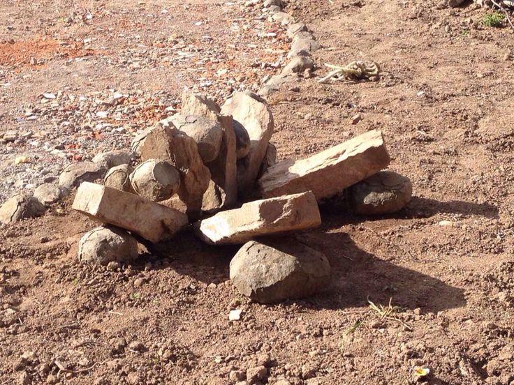 Karoo rock art looking NNE