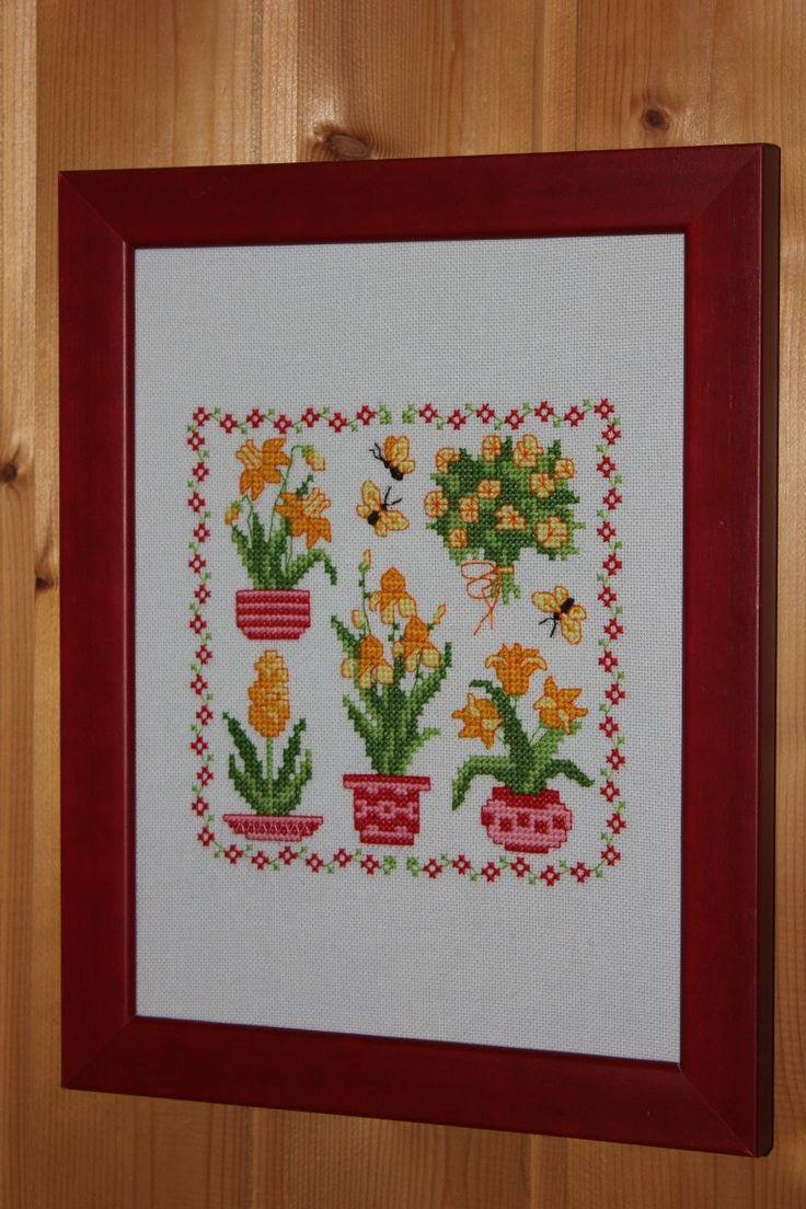 1000 images about cross stitch flowers amp vases on