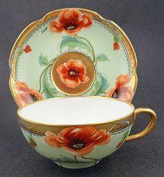 art nouveau tea cup - Google Search