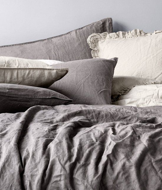 Linen bedding   15 More Must-Haves from H Home   Babble
