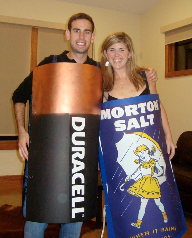 Assault and Battery | 26 Hilariously Clever Halloween Costumes