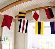 Ship Flag GarlandsGuest Room, Nautical Flags, Barns Kids, Man Room, Ships Flags, Flags Garlands, Boys Room, Pottery Barn, Nautical Room