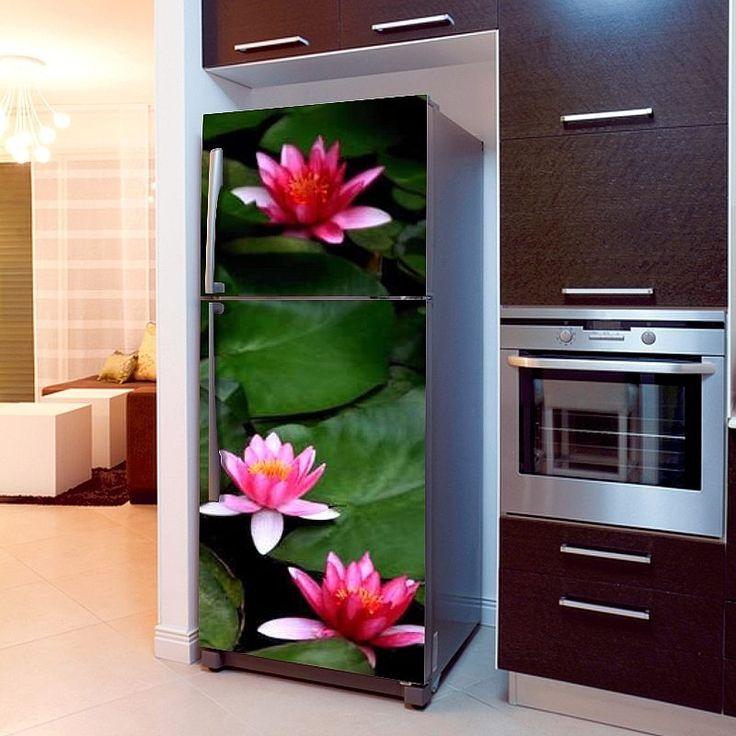 Fototapeta na lodówkę - Lilie wodne | Fridge wallpaper - Nenuphar | 51,60PLN #fototapeta #fototapeta_lodówka #dekoracja_lodówki #wystrój_kuchni #dekoracja_kuchni #lilie_wodne #lilie_dekoracja #photograph_wallpaper #fridge_wallpaper #fridge_decor #fridge_design #kitchen_decor #kitchen_design # nenuphar #nenuphar_decor #design #decor