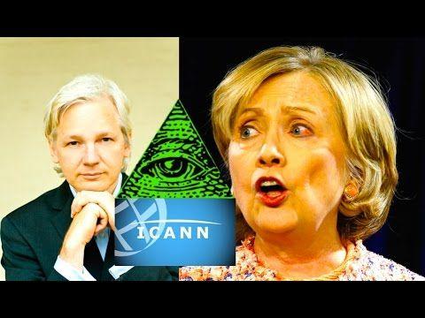 STUNNING SECRET of Julian Assange and Obama's Internet Surrender to ICAN...