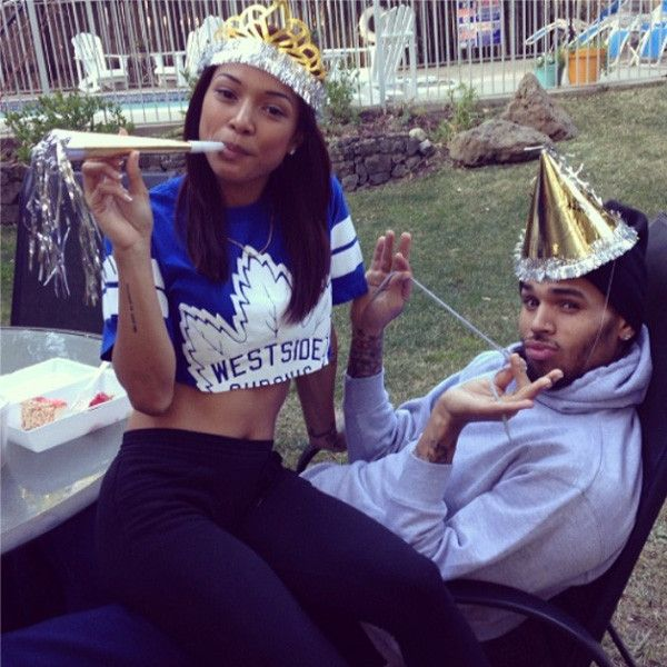 Chris Brown and Karrueche Tran Engagement Rumors Swirl After She Posts This Cryptic Photo  Karrueche Tran, Chris Brown, Instagram