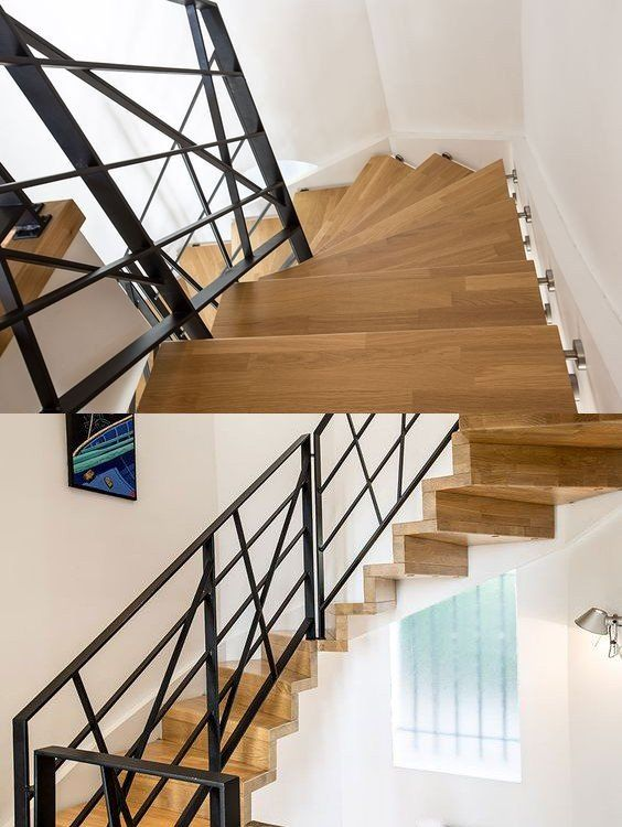 37 best rampe escalier garde corps rambarde et balustrade images on pinterest banisters. Black Bedroom Furniture Sets. Home Design Ideas
