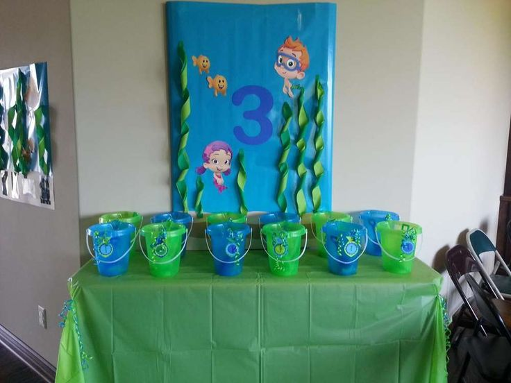 Bubble guppies birthday party ideas - Bubble guppie birthday ideas ...
