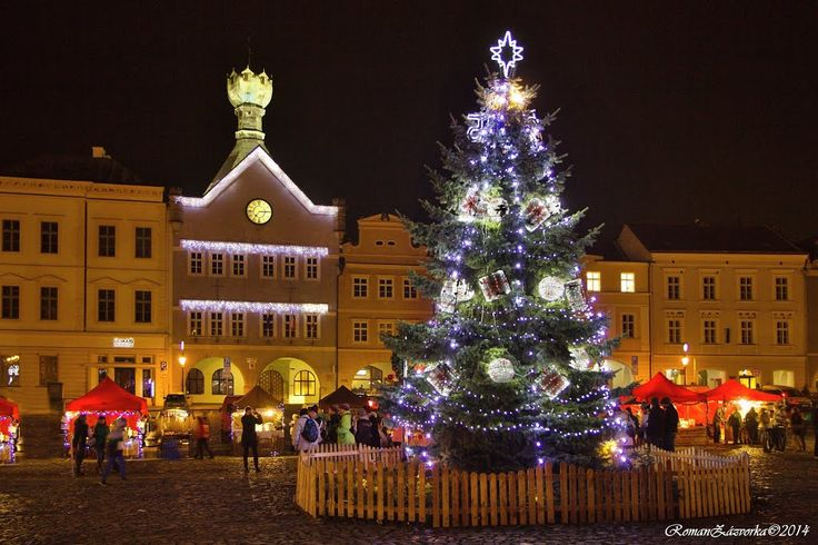 Christmas in the Czech Republic. Litoměřice