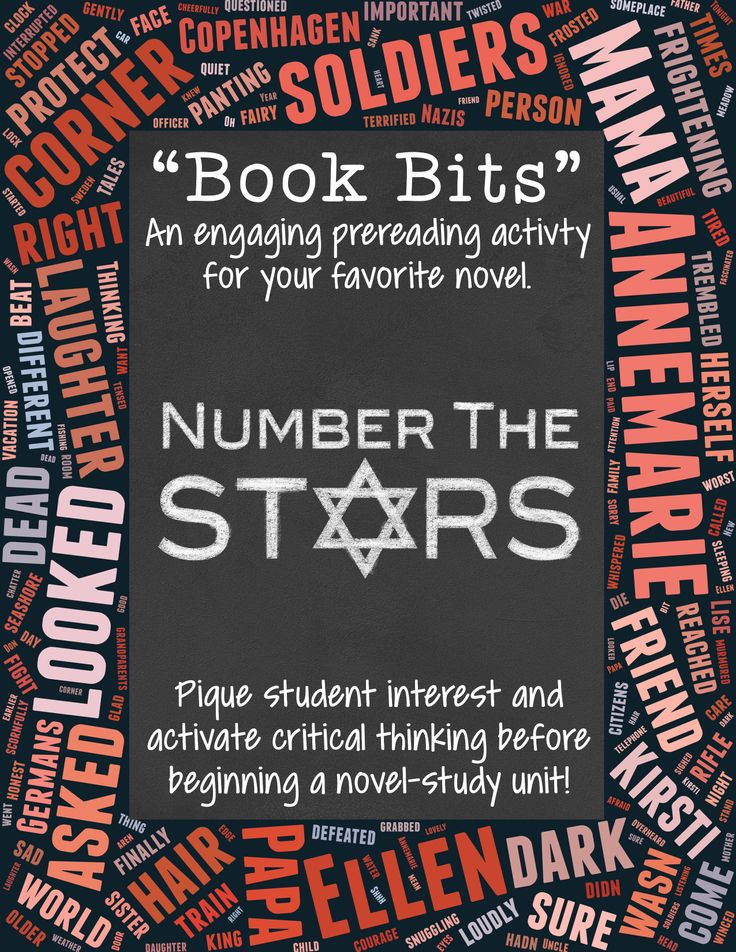 Pique student interest and activate critical thinking before beginning a novel-study on Number the Stars! $