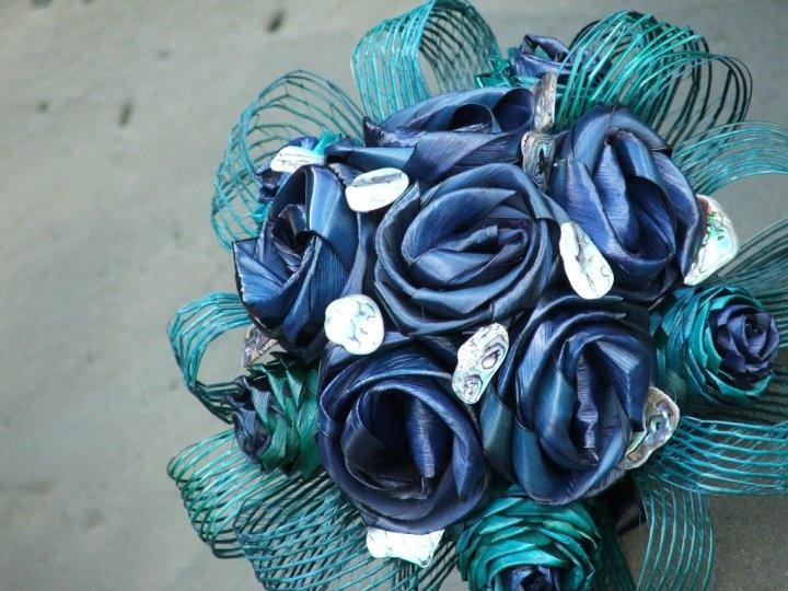 Flax flower wedding bouquet by Artiflax Ltd http://www.artiflax.co.nz