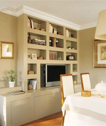 M s de 25 ideas fant sticas sobre librer as de sal n en for Muebles escayola