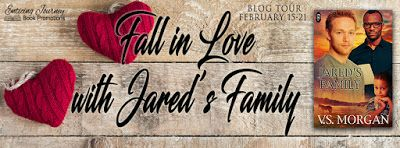 Jared's Family by VS Morgan - @EnticingJourney, #Contemporary, #Inter_Racial, #M_M, #Western, 4 out of 5 (very good) - February