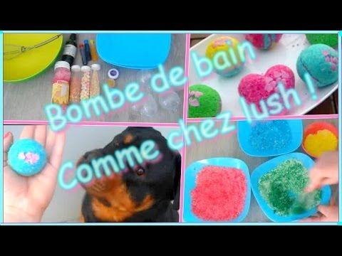 ✁ DiY - Des bombes de bain comme chez LUSH ! francais !! - YouTube