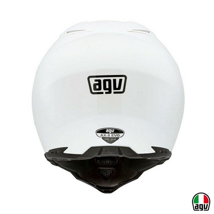 AGV AX-8 EVO - Mono White