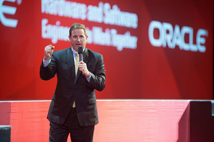 Mark Hurd, President, Oracle Corporation - Oracle OpenWorld 2013  photo courtesy of Orange Photography