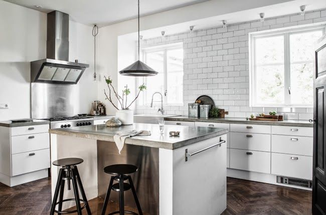Belysning Koksbank : Home tours and Home on Pinterest