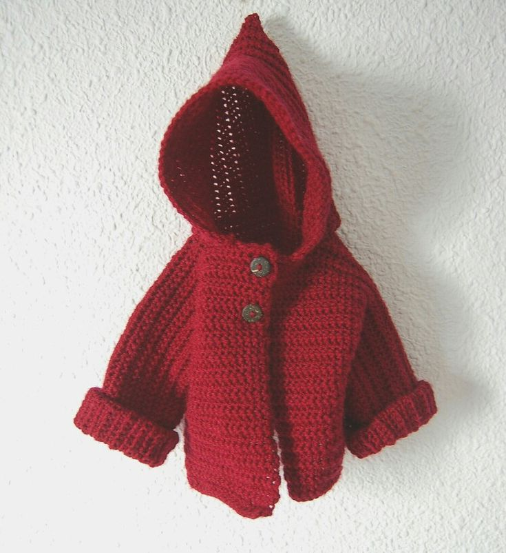 #crochet #chaqueta #ganchillo #lana #6meses