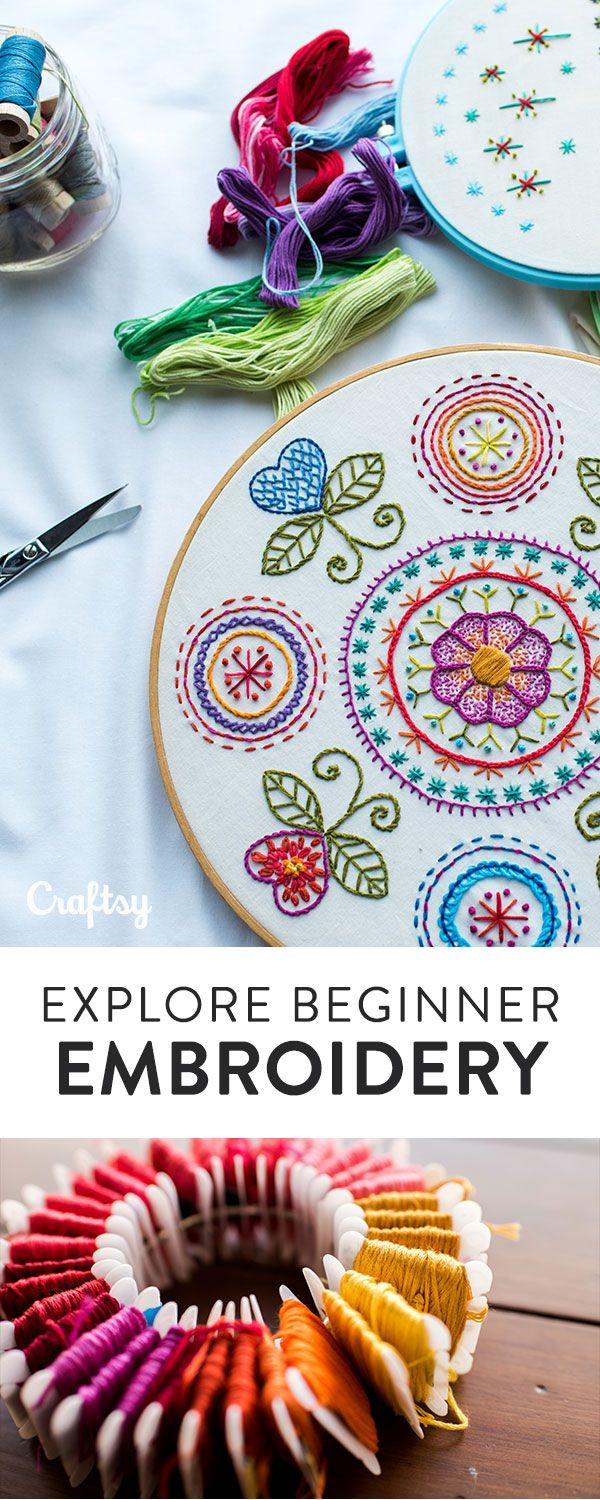 Learn how to embroider beautiful fabrics and customize your clothes with the #startuplibrary embroidery online class.