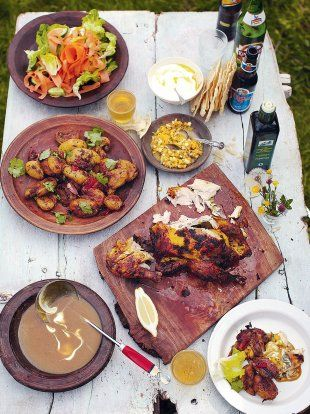 Empire Roast Chicken | Chicken Recipes | Jamie Oliver Recipes