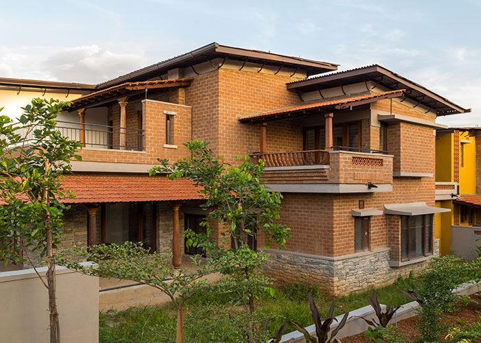 101 best neo indian architecture images on pinterest for Architecture design for home in mysore