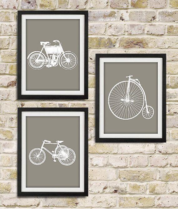 Vintage Wall Art best 10+ vintage bicycle art ideas on pinterest | bike drawing
